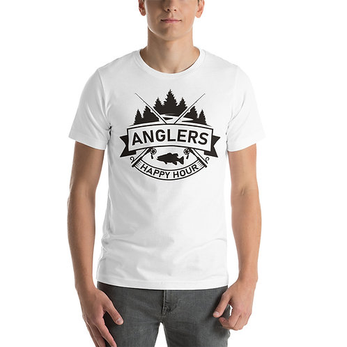 New School Anglers Happy Hour T-Shirt