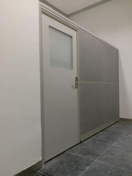 FABRIC PANEL W DOOR