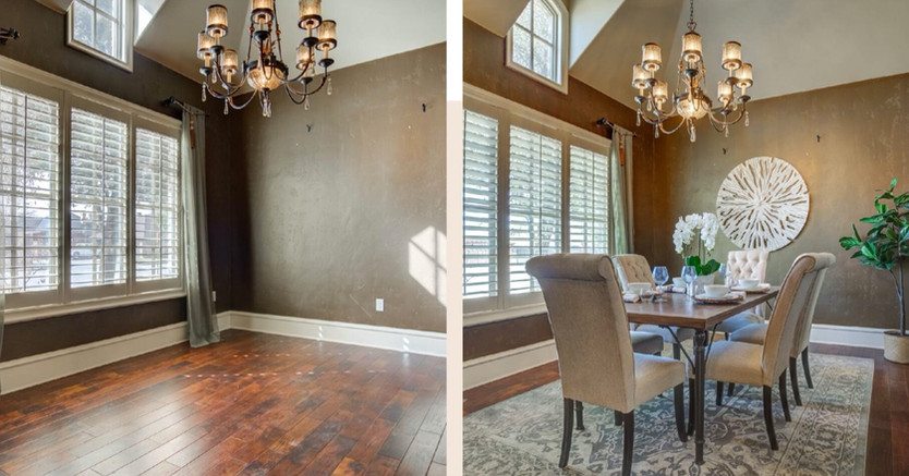 Before to After: The Perfect Something Staging & Redesign Lubbock, TX Lauren Brownd