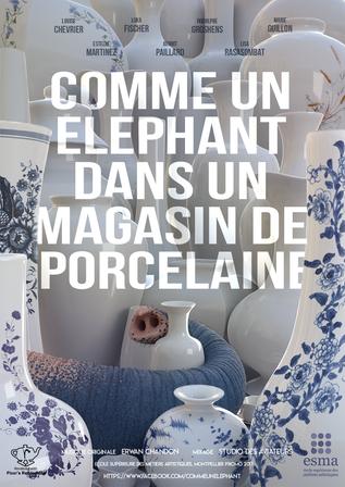 COMME UN ELEPHANT DANS UN MAGASIN DE PORCELAINE (short)
