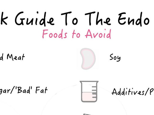 Feed Me Friday: The 'Endo Diet'