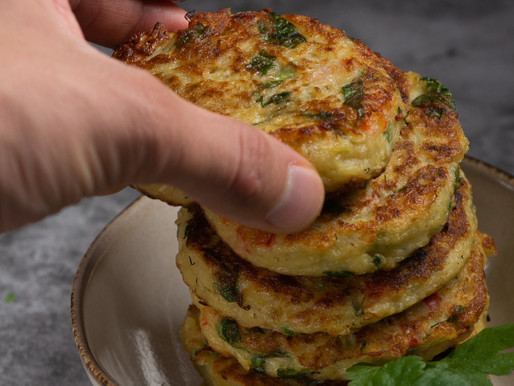 Feed Me Friday: Gluten-Free Sweet Vegetable Fritters