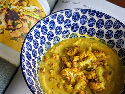 Feed Me Friday: Roast Cauliflower Soup