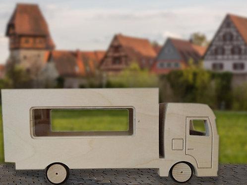 Lastwagenkässeli aus Sperrholz