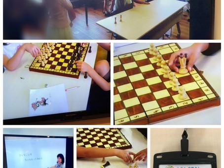 ABI-STA@玉川聖学院でチェスラボを行いました。