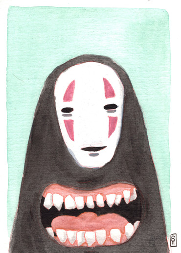 """""""Hungry No-Face"""""""