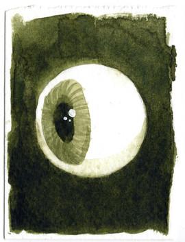 Watercolour Eye Study 3