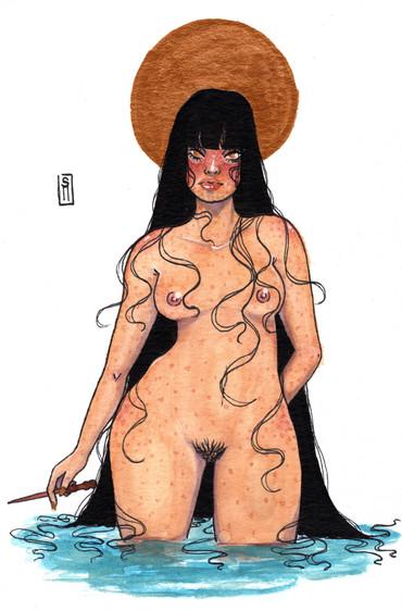 """Seductive Witch"""