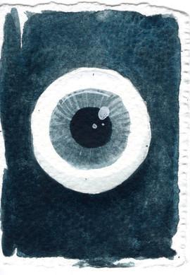 Watercolour Eye Study 2