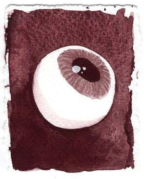 Watercolour Eye Study 1