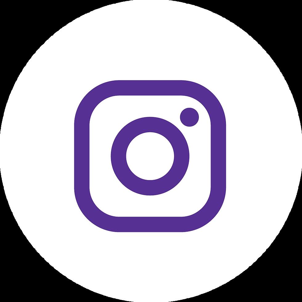 Instagram Purple on White