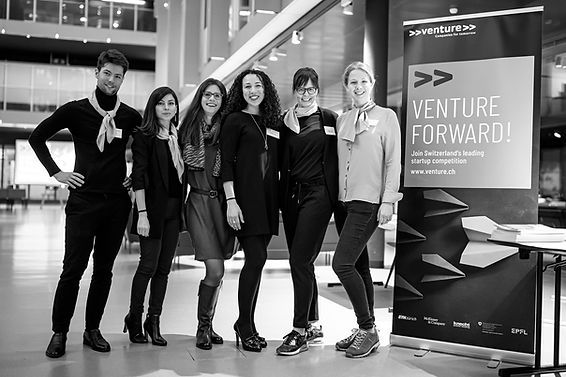 venture startup competition team