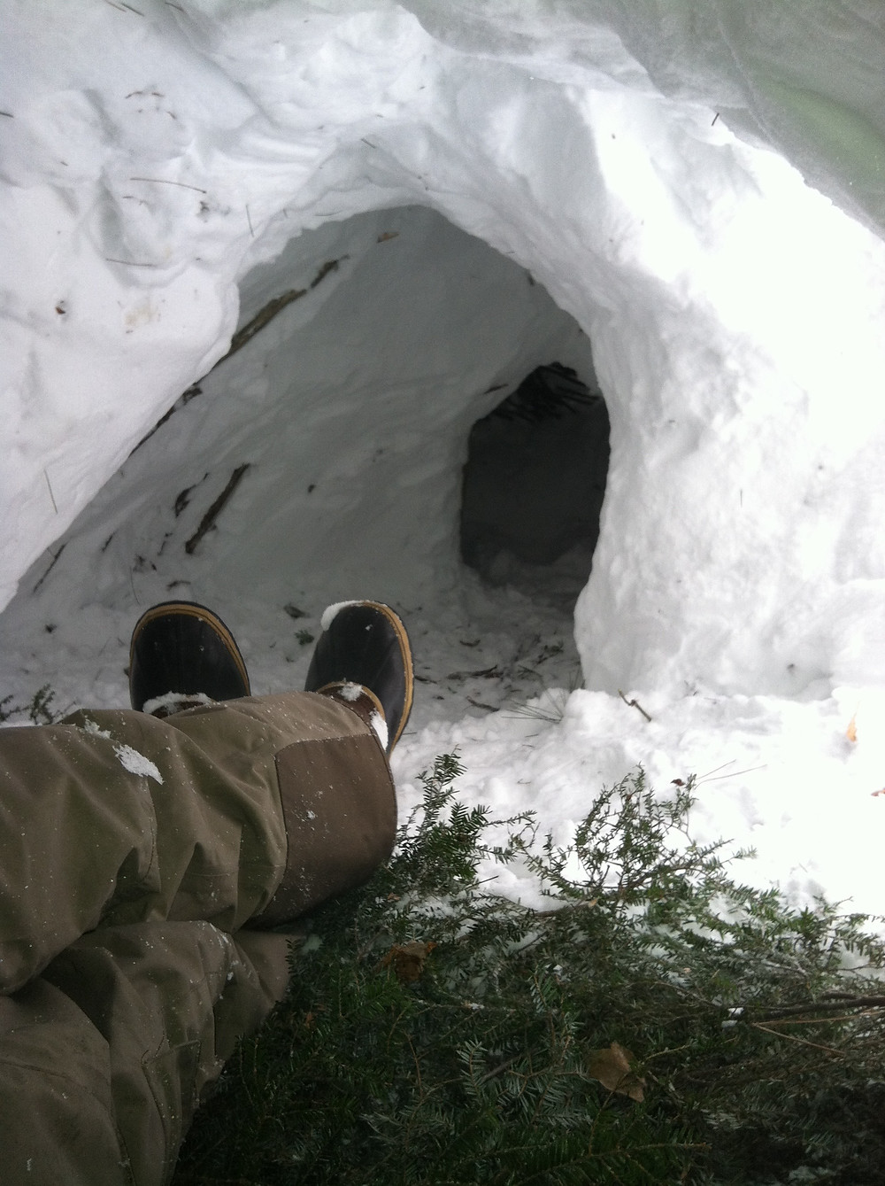 Snow pants & Shelter Building