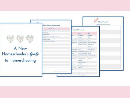 A New Homeschooler's Guide to Homeschooling