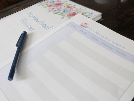 How to Create a Weekly Homeschool Schedule (with Multiple Children)