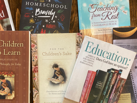 The Books that Shaped Our Christian Homeschool