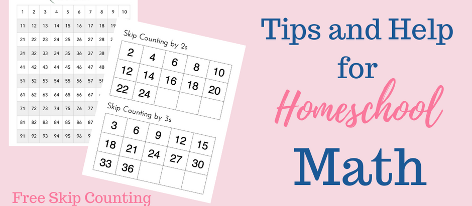 Tips and Help for Homeschool Math