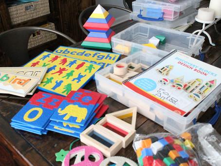 Homeschool Preschool & Kindergarten Curriculum & Resources