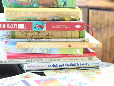 Homeschool Preschool & Kindergarten Bible Resources