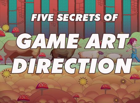 Five Secrets of Game Art direction