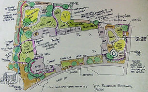 Schematic Plan of Landscape Design
