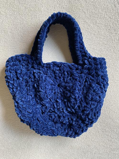 velvet bag azul