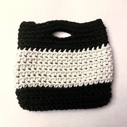 bicolor bag