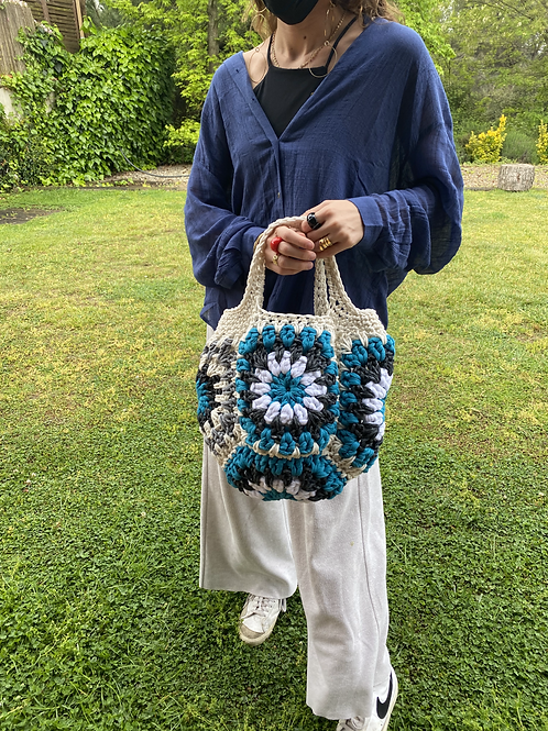 Big bag turquesa