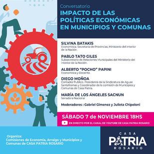 EL IMPACTO DE LAS POLÍTICAS ECONÓMICAS EN MUNICIPIOS Y COMUNAS