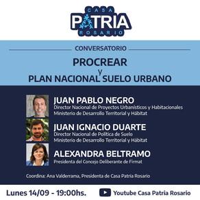 PROCREAR + PLAN NACIONAL DE SUELO URBANO