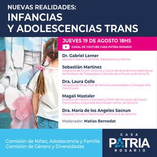 Nuevas Realidades: Infancias y Adolescencias Trans