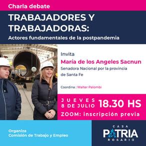 """""""Trabajadores y Trabajadoras: actores fundamentales de la postpandemia""""."""