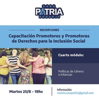 Promotores y  Promotoras de Derechos para la Inclusión Social
