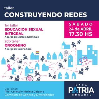 TALLER CONSTRUYENDO REDES