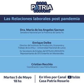 Las relaciones laborales post pandemia