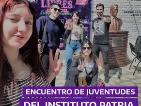 Encuentro Nacional de Juventudes del Instituto Patria