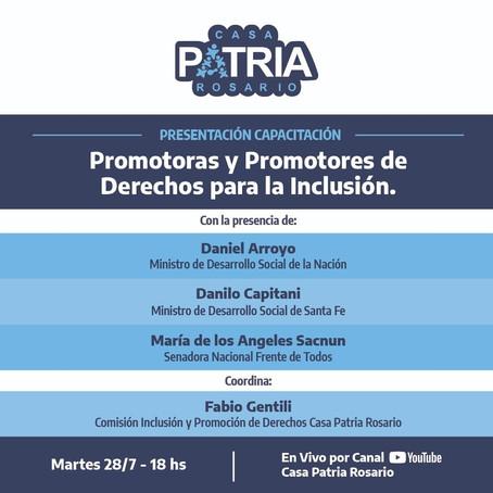 PROMOTORES Y PROMOTORAS DE DERECHOS PARA LA INCLUSIÓN