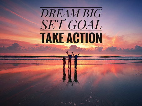 "Take ""Inspired Action"" to Achieve Goals"