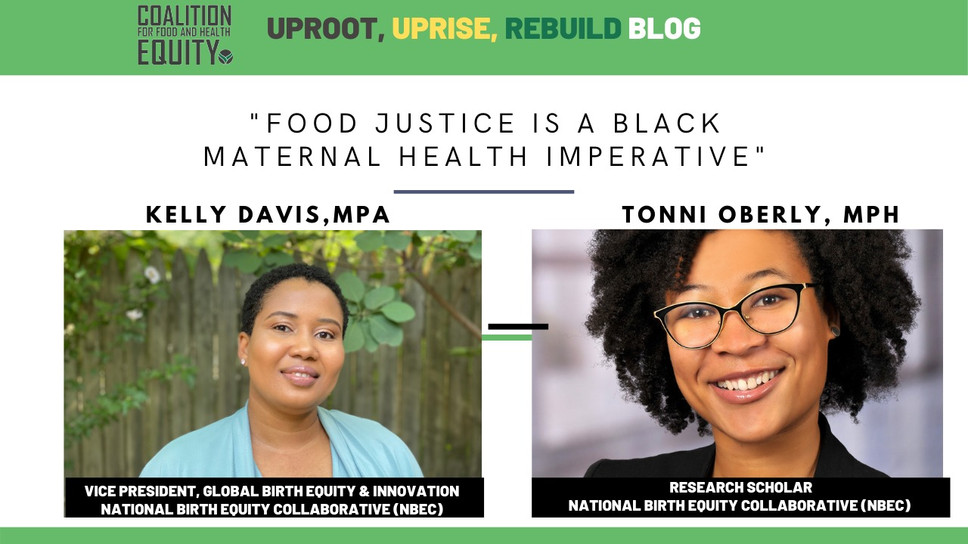Food Justice is a Black Maternal Health Imperative