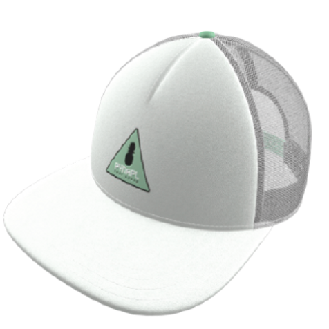PYNAPL White Out Snap Back Hat