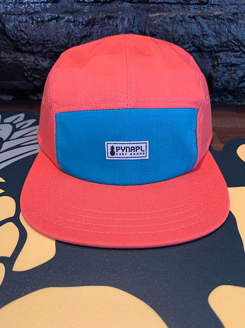 Coral + Teal Pynapl® Cycle Hat