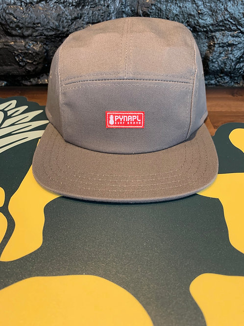 Grey + Red Pynapl® Cycle Hat