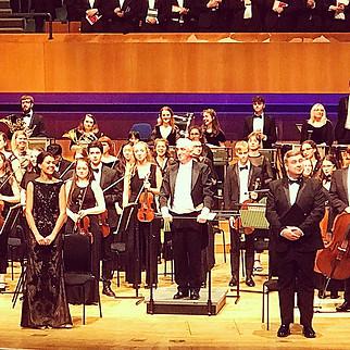 Fauré Requiem in St. David's Hall