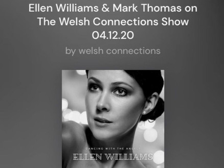 Podcast: The Welsh Connections Show, Ellen Williams & Mark Thomas