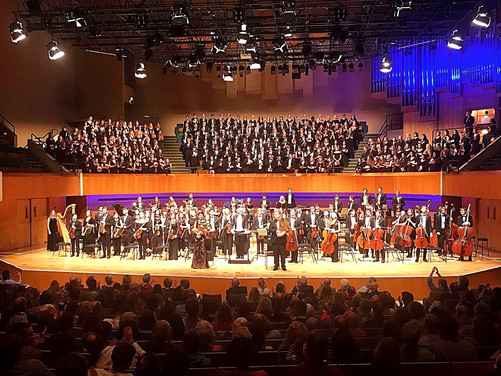 Fauré Requim in St. David's Hall