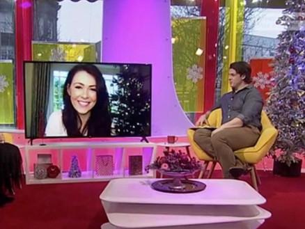 "Guest on Welsh Television Programme, ""Prynhawn Da"""