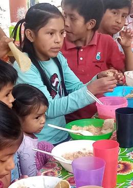 Community Kitchen in San Pedro Itzican