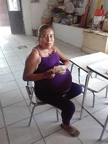 Maria Estmeralda  receiving money for su