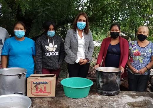 La Pena food team June 2021