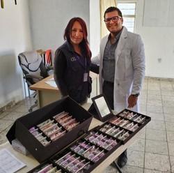 Anita and Dr Salvador